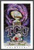 NCAA TCU Horned Frogs Rose Bowl Mosaic