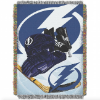 NHL Tampa Bay Lightning Home Ice Advantage 48x60 Tapestry Throw