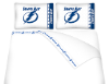 NHL Tampa Bay Lightning Micro Fiber Bed Sheets