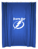 NHL Tampa Bay Lightning Shower Curtain