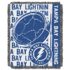 NHL Tampa Bay Lightning 48x60 Triple Woven Jacquard Throw