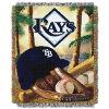 MLB Tampa Bay Rays Home Field Advantage 48x60 Tapestry Throw