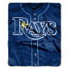 MLB Tampa Bay Rays 50x60 Raschel Throw
