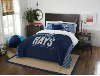 MLB Tampa Bay Rays QUEEN Comforter and 2 Shams