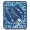 MLB Tampa Bay Rays 48x60 Triple Woven Jacquard Throw
