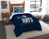 MLB Tampa Bay Rays Twin Comforter Set
