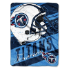 NFL Tennessee Titans 50x60 Micro Raschel Throw Blanket