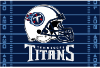 NFL Tennessee Titans 40x60 Tufted Rug