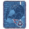 NFL Tennessee Titans SPIRAL 48x60 Triple Woven Jacquard Throw