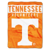 NCAA Tennessee Volunteers 60x80 Super Plush Throw