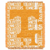NCAA Tennessee Volunteers FOCUS 48x60 Triple Woven Jacquard Throw
