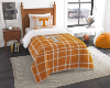 NCAA Tennessee Volunteers Twin Comforter with Sham
