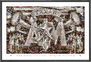 NCAA Texas A&M Aggies Silver Taps Mosaic