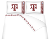 NCAA Texas A&M Aggies Micro Fiber Bed Sheets