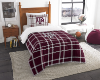 NCAA Texas A&M Aggies Twin Comforter with Sham