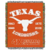 NCAA Texas Longhorns Commemorative 48x60 Tapestry Throw
