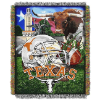 NCAA Texas Longhorns Home Field Advantage 48x60 Tapestry Throw