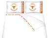 NCAA Texas Longhorns Micro Fiber Bed Sheets