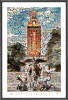 NCAA Texas Longhorns The Tower Mosaic