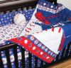MLB Texas Rangers 5 Piece Baby Crib Set