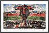 NCAA Texas Tech Red Raiders Making an Entrance Mosaic
