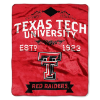 NCAA Texas Tech Red Raiders 50x60 Raschel Throw Blanket