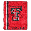 NCAA Texas Tech Red Raiders Sherpa 50x60 Throw Blanket