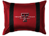 NCAA Texas Tech Red Raiders Pillow Sham - Sidelines Series