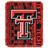 NCAA Texas Tech Red Raiders FOCUS 48x60 Triple Woven Jacquard Throw