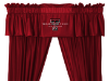 NCAA Texas Tech Red Raiders Valance - Locker Room Series