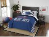 MLB Toronto Blue Jays QUEEN Comforter and 2 Shams