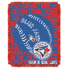 MLB Toronto Blue Jays 48x60 Triple Woven Jacquard Throw