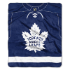 NHL Toronto Maple Leafs JERSEY 50x60 Raschel Throw