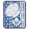 NHL Toronto Maple Leafs 48x60 Triple Woven Jacquard Throw