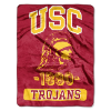 NCAA USC Trojans 50x60 Micro Raschel Throw
