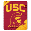 NCAA USC Trojans 50x60 Fleece Throw Blanket
