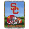 NCAA USC Trojans Home Field Advantage 48x60 Tapestry Throw