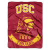 NCAA USC Trojans 60x80 Super Plush Throw