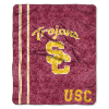 NCAA USC Trojans Sherpa 50x60 Throw Blanket