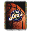 NBA Utah Jazz Real Photo 48x60 Tapestry Throw