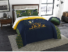 NBA Utah Jazz QUEEN Comforter and 2 Shams