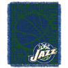 NBA Utah Jazz 48x60 Triple Woven Jacquard Throw
