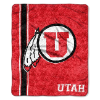 NCAA Utah Utes Sherpa 50x60 Throw Blanket