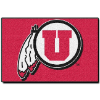 NCAA Utah Utes 20x30 Tufted Rug