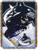 NHL Vancouver Canucks Home Ice Advantage 48x60 Tapestry Throw