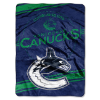 NHL Vancouver Canucks 60x80 Super Plush Throw Blanket