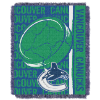 NHL Vancouver Canucks 48x60 Triple Woven Jacquard Throw