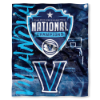NCAA Villanova Wildcats 2018 NCAA Basketball Champs Commemorative Throw Blanket