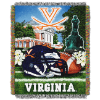 NCAA Virginia Cavaliers Home Field Advantage 48x60 Tapestry Throw