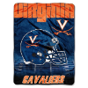 NCAA Virginia Cavaliers OVERTIME 60x80 Super Plush Throw